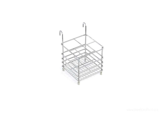 Steelcraft, ,  Stainless Steel, Cutlery holder (use with 2-tier dish rack)