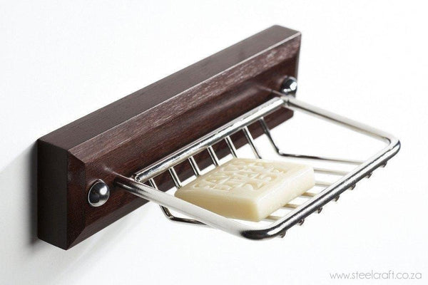 Wood 'N Steel Soap Dish - Steelcraft