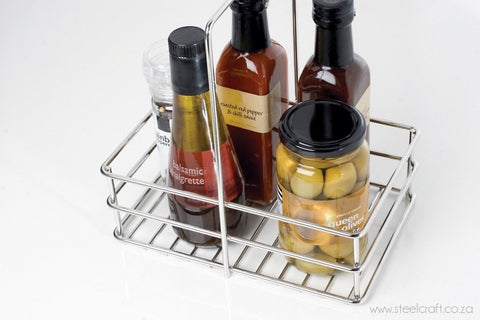 Steelcraft, Stainless Steel, Basket for condiments