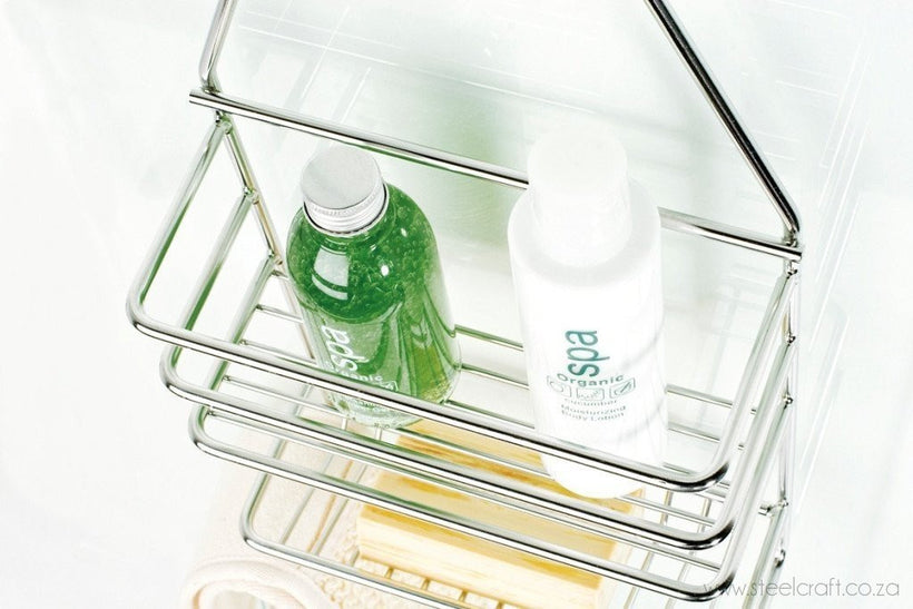 Shower caddy, Shower caddy, Bathroom Ware, Steelcraft, steelcraft.co.za , www.steelcraft.co.za
