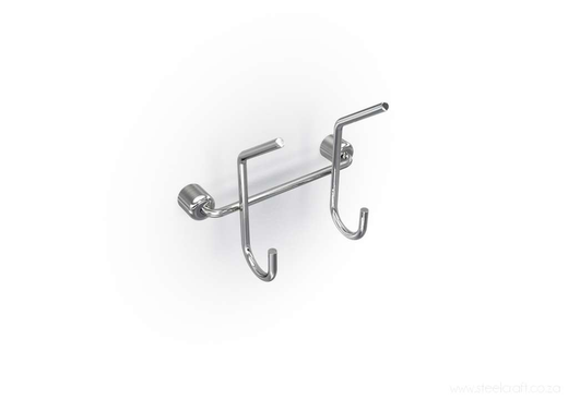 Premier Double Hook, Premier Double Hook, Bathroom Ware, Steelcraft, Steelcraft , www.steelcraft.co.za