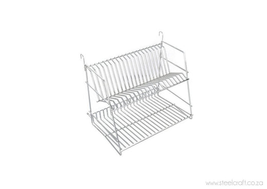 Rail System Two-tier Dish Rack, Rail System Two-tier Dish Rack, Bathroom Ware, Steelcraft, steelcraft.co.za , www.steelcraft.co.za
