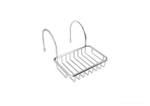 Hook Over Bath Soap Dish - Steelcraft