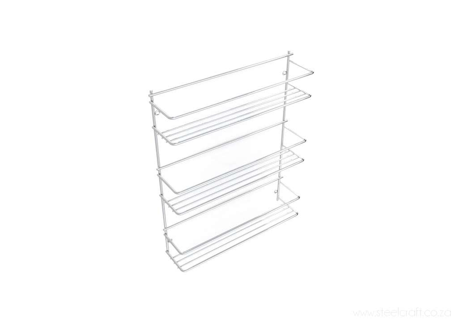 Spice Rack (Wall-Mounted), Spice Rack (Wall-Mounted), Kitchen Ware, Steelcraft, Steelcraft , www.steelcraft.co.za