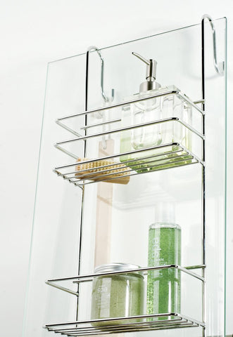 Hook Over Shower Caddy (Large), Hook Over Shower Caddy (Large), Bathroom Ware, Steelcraft, steelcraft.co.za , www.steelcraft.co.za