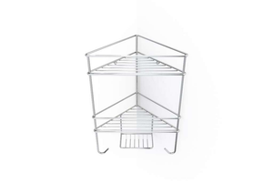 Corner Shower Organiser Double - Steelcraft