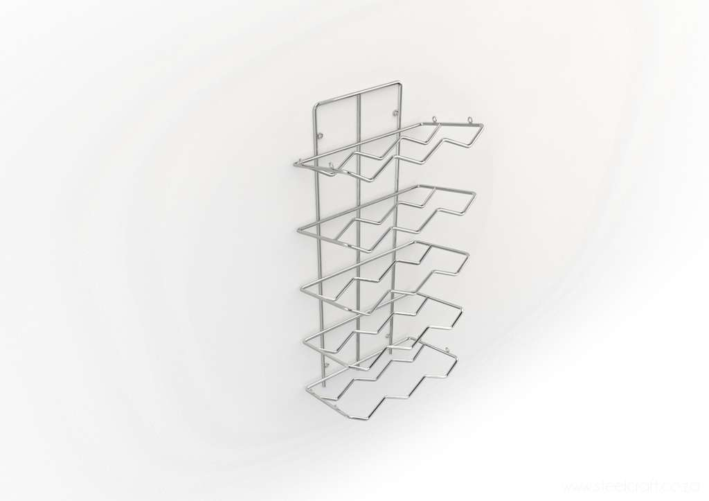 Wine rack (15 bottles), Wine rack (15 bottles), Catering Ware, Steelcraft, Steelcraft , www.steelcraft.co.za