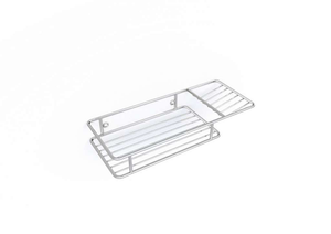 Shelf & soap dish - Steelcraft