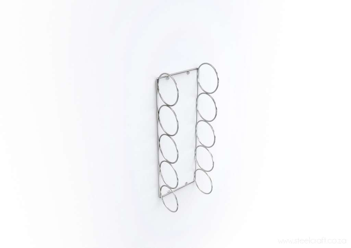 Wall Mounted Wine Rack, Wall Mounted Wine Rack, Catering Ware, Steelcraft, Steelcraft , www.steelcraft.co.za