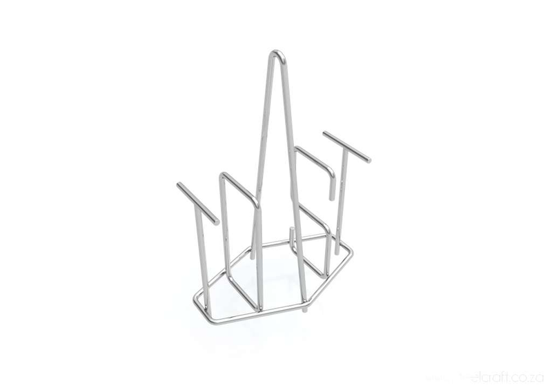 Steelcraft, Stainless Steel, T-O-A-S-T Holder