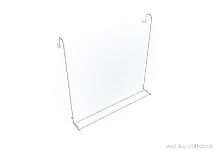 Steelcraft, Stainless Steel, Foldable Hook Over Shower Towel Rail