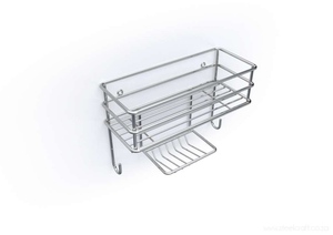 Wall Basket Organiser - Steelcraft