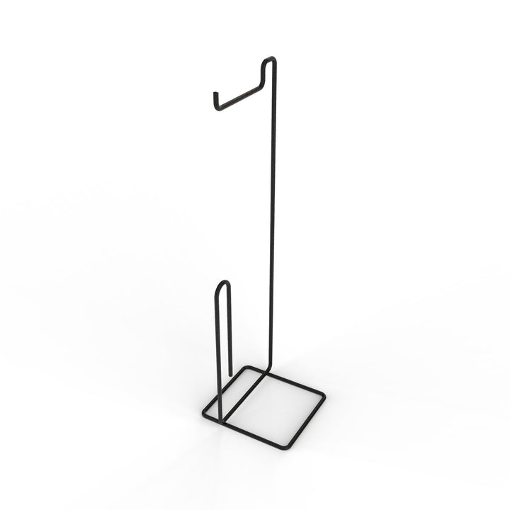 Toilet Roll Holder Stand (Square Design) Matt Black, Toilet Roll Holder Stand (Square Design) Matt Black, Bathroom Ware, Steelcraft, Steelcraft , www.steelcraft.co.za