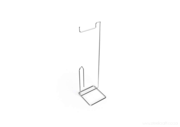 Toilet Roll Holder Stand (Square Design) - Steelcraft