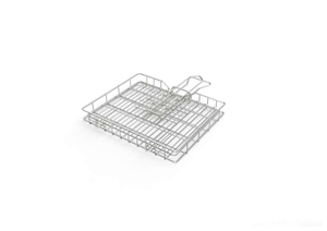 Braai Grid - Mini Adjustable Depth With Slide Away Handles - Steelcraft