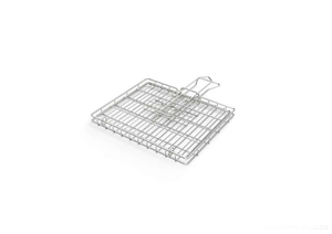 Braai Grid -Small Hinge Lid with Slide Away Handles - Steelcraft