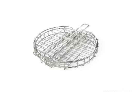 Braai Grid - Round Adjustable Depth With Slide Away Handle, Braai Grid - Round Adjustable Depth With Slide Away Handle, Kitchen Ware, Steelcraft, steelcraft.co.za , www.steelcraft.co.za