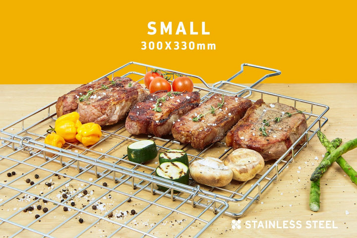 Braai Grid -Small Hinge Lid with Slide Away Handles, Braai Grid -Small Hinge Lid with Slide Away Handles, Braai Ware, Steelcraft, Steelcraft , www.steelcraft.co.za