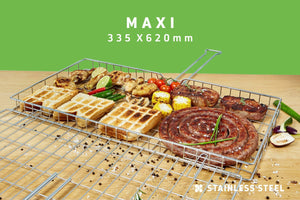 Braai Grid -  Maxi Adjustable Depth, Braai Grid -  Maxi Adjustable Depth, Braai Ware, Steelcraft, Steelcraft , www.steelcraft.co.za