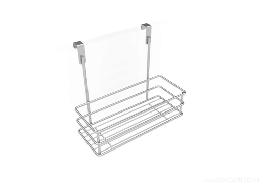 Hook Over Cupboard Door Basket - Steelcraft