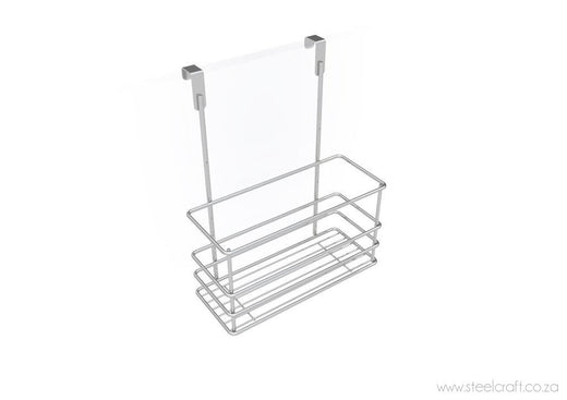 Hook Over Cupboard Door Bottle Basket - Steelcraft