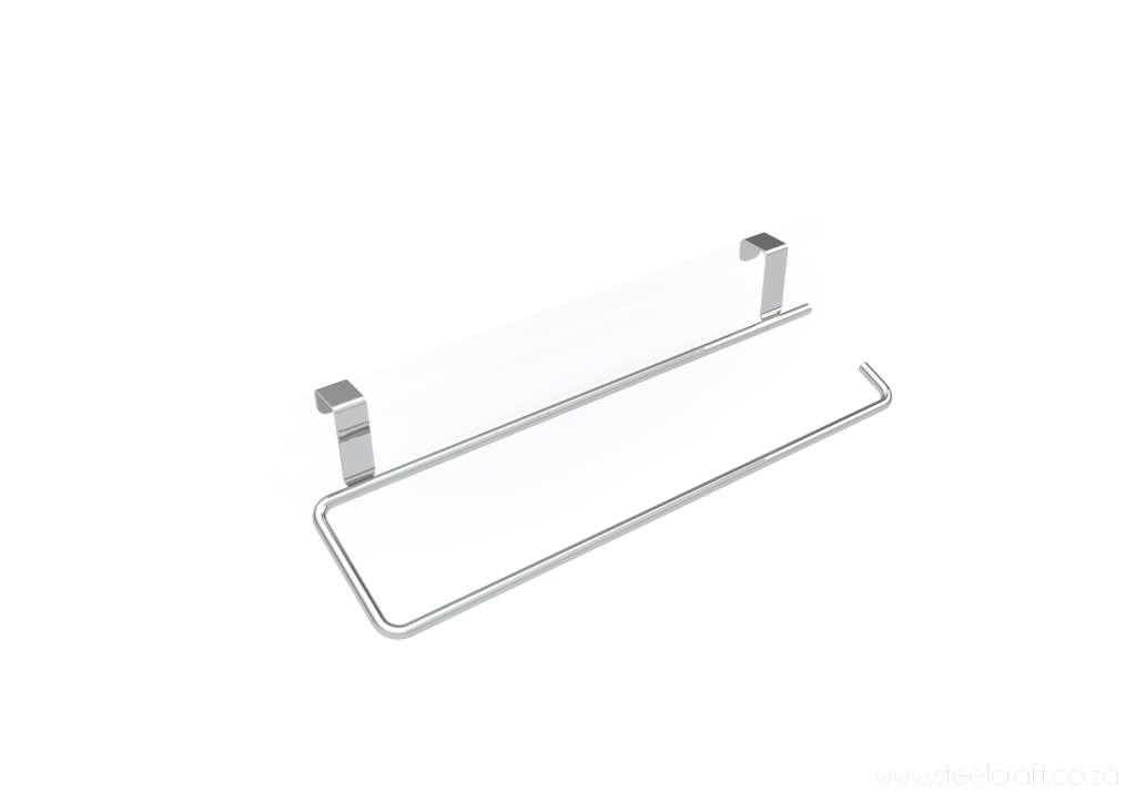 Steelcraft, Stainless Steel, Hook Over Door Paper Towel Holder