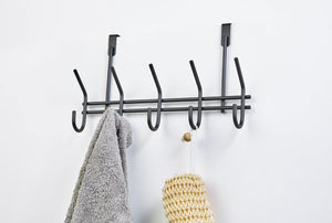 Hook Over Door Rack Matt Black, Hook Over Door Rack Matt Black, Bathroom Ware, Steelcraft, Steelcraft , www.steelcraft.co.za