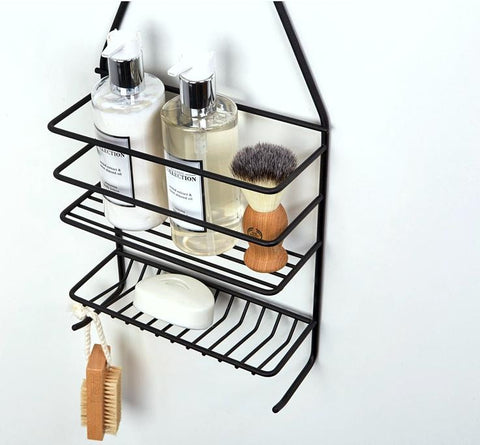 Shower caddy - medium Matt Black, Shower caddy - medium Matt Black, Bathroom Ware, Steelcraft, Steelcraft , www.steelcraft.co.za