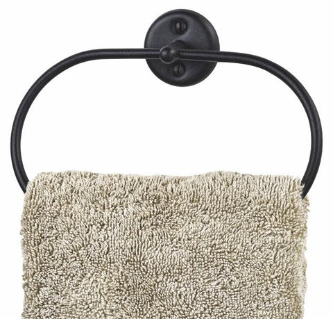 Classic Towel ring Matt Black, Classic Towel ring Matt Black, Bathroom Ware, Steelcraft, Steelcraft , www.steelcraft.co.za