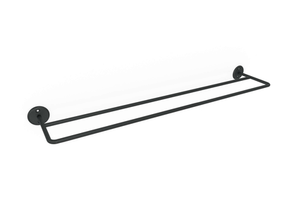 Classic Double Rail (600mm) Matt Black, Classic Double Rail (600mm) Matt Black, Bathroom Ware, Steelcraft, steelcraft.co.za , www.steelcraft.co.za