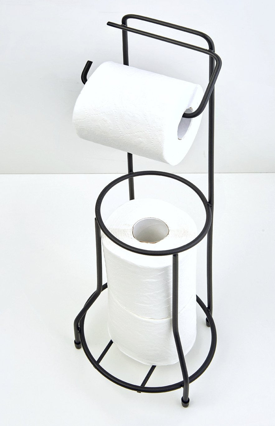 Toilet roll stand Matt Black, Toilet roll stand Matt Black, Bathroom Ware, Steelcraft, Steelcraft , www.steelcraft.co.za