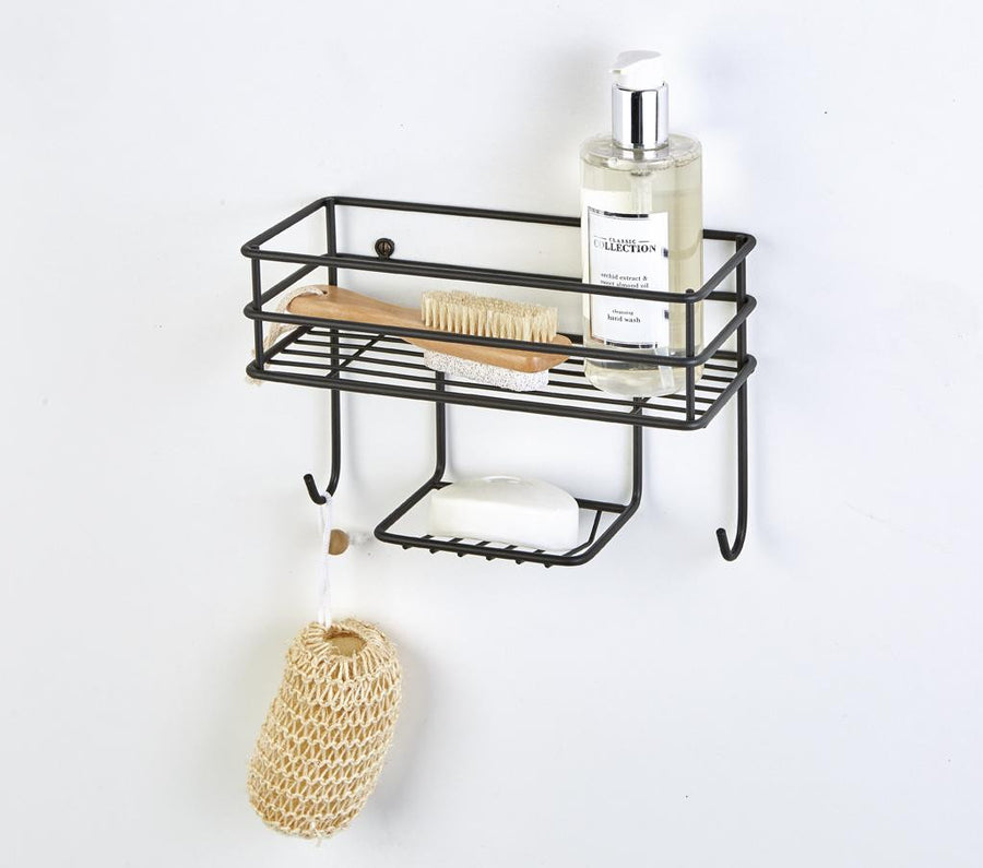 Wall Basket Organiser Matt Black, Wall Basket Organiser Matt Black, Bathroom Ware, Steelcraft, Steelcraft , www.steelcraft.co.za