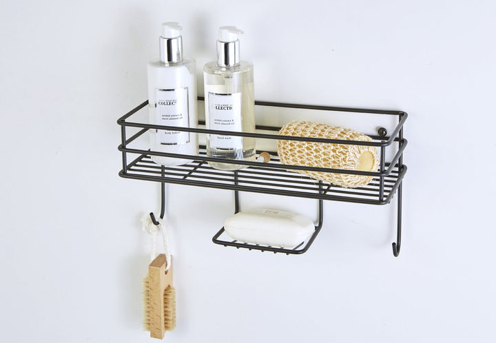 Shelf Basket Organiser Matt Black, Shelf Basket Organiser Matt Black, Bathroom Ware, Steelcraft, Steelcraft , www.steelcraft.co.za