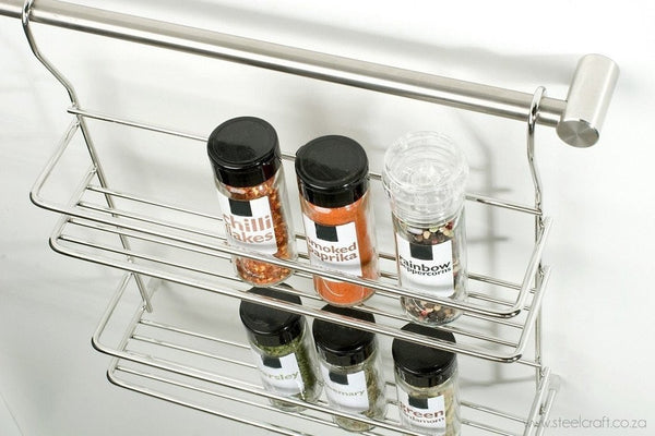 Rail System Spice rack - Steelcraft