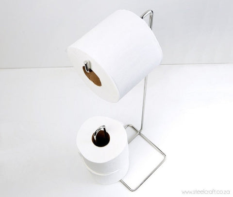 Toilet Roll Holder Stand (Square Design), Toilet Roll Holder Stand (Square Design), Bathroom Ware, Steelcraft, Steelcraft , www.steelcraft.co.za