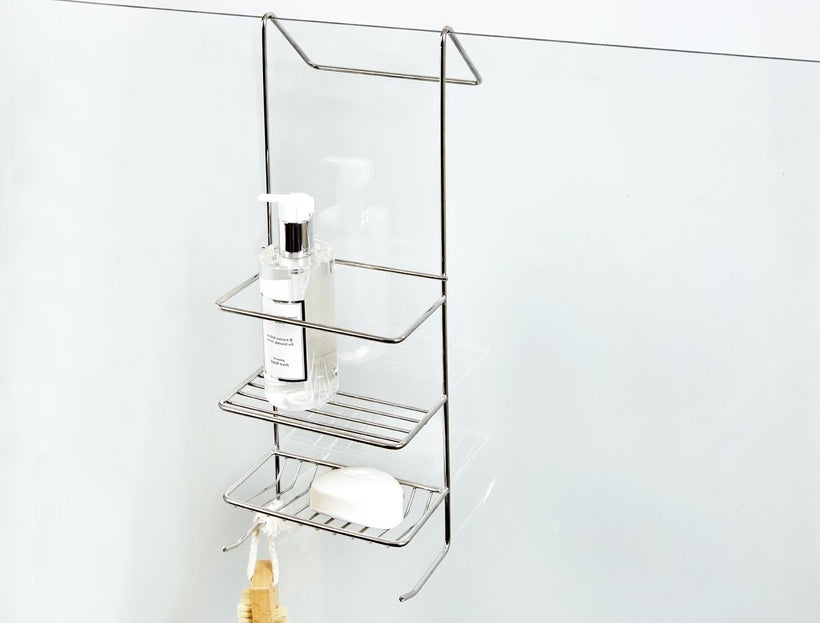 Hook Over Shower Caddy (Small), Hook Over Shower Caddy (Small), Bathroom Ware, Steelcraft, steelcraft.co.za , www.steelcraft.co.za