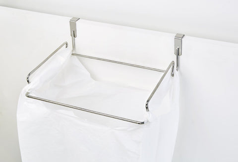 Hook Over Cupboard Door Recycled Carry Bag Holder - Steelcraft