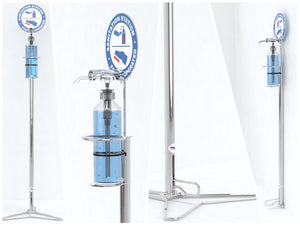 Step Sanitation Station (Floor Stand / Wall Mount Option), Step Sanitation Station (Floor Stand / Wall Mount Option), , Steelcraft, Steelcraft , www.steelcraft.co.za