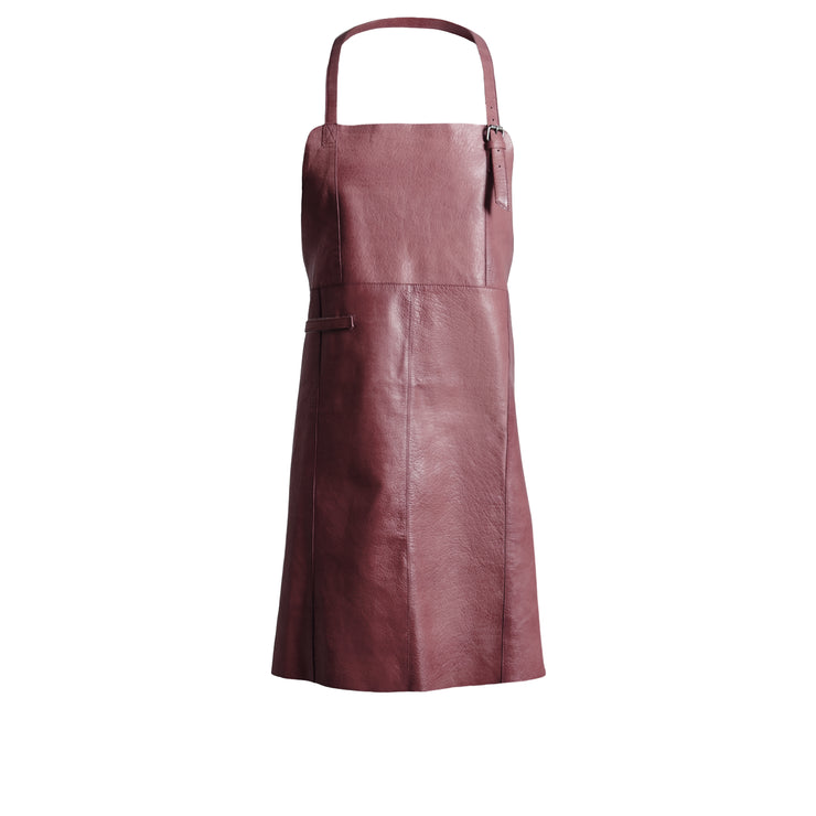 muud East Apron Dark plum