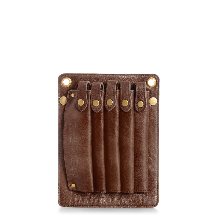muud Gangster Scissor pouch Brown