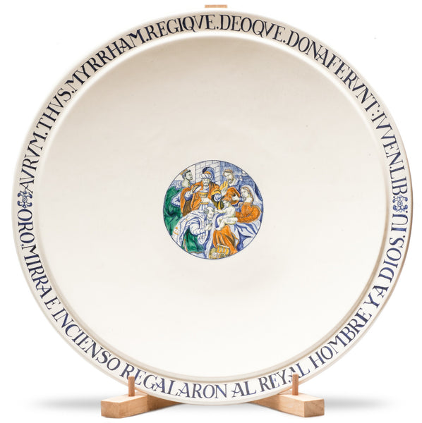 "Plate ""Less is More"", Kings´ Worship"