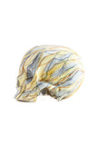 Skull Yellow Marbled