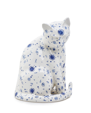 Blu Patterned Cat