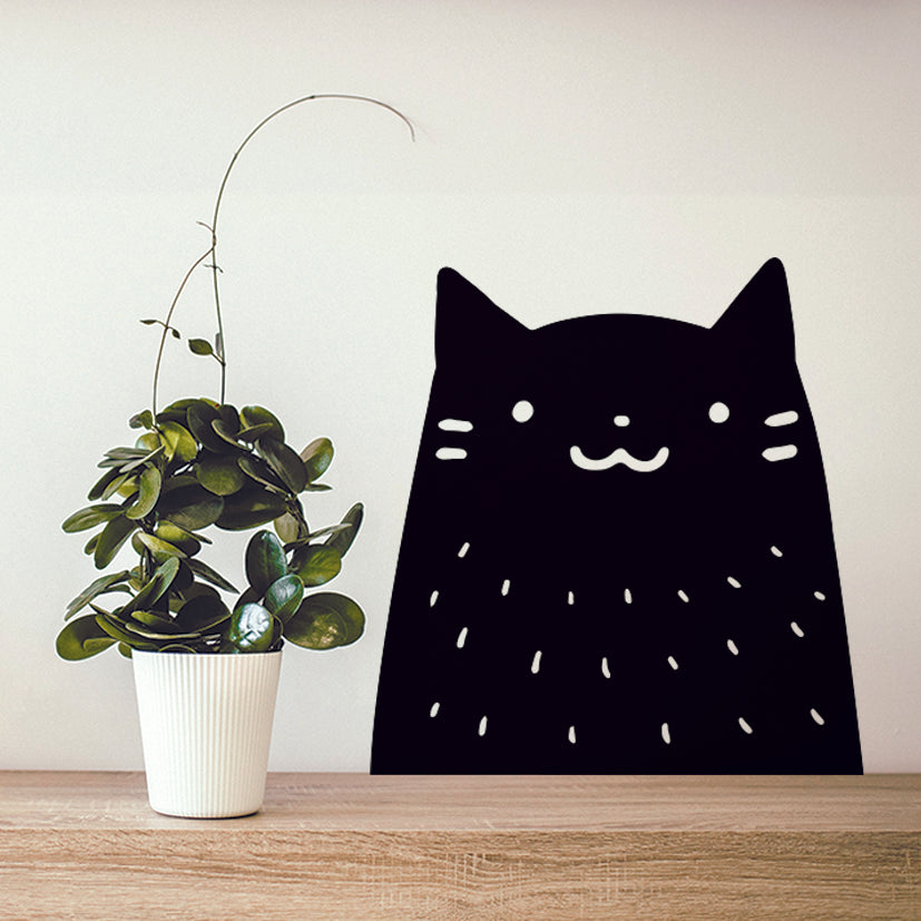 Black Cat Wall Sticker