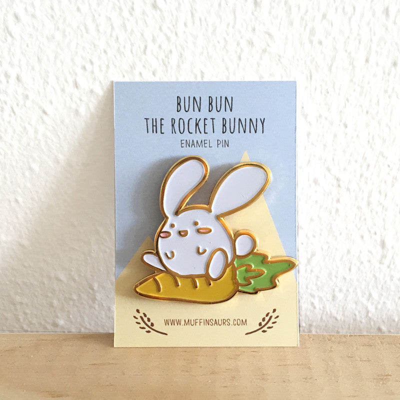 Bun Bun the Rocket Bunny Pin