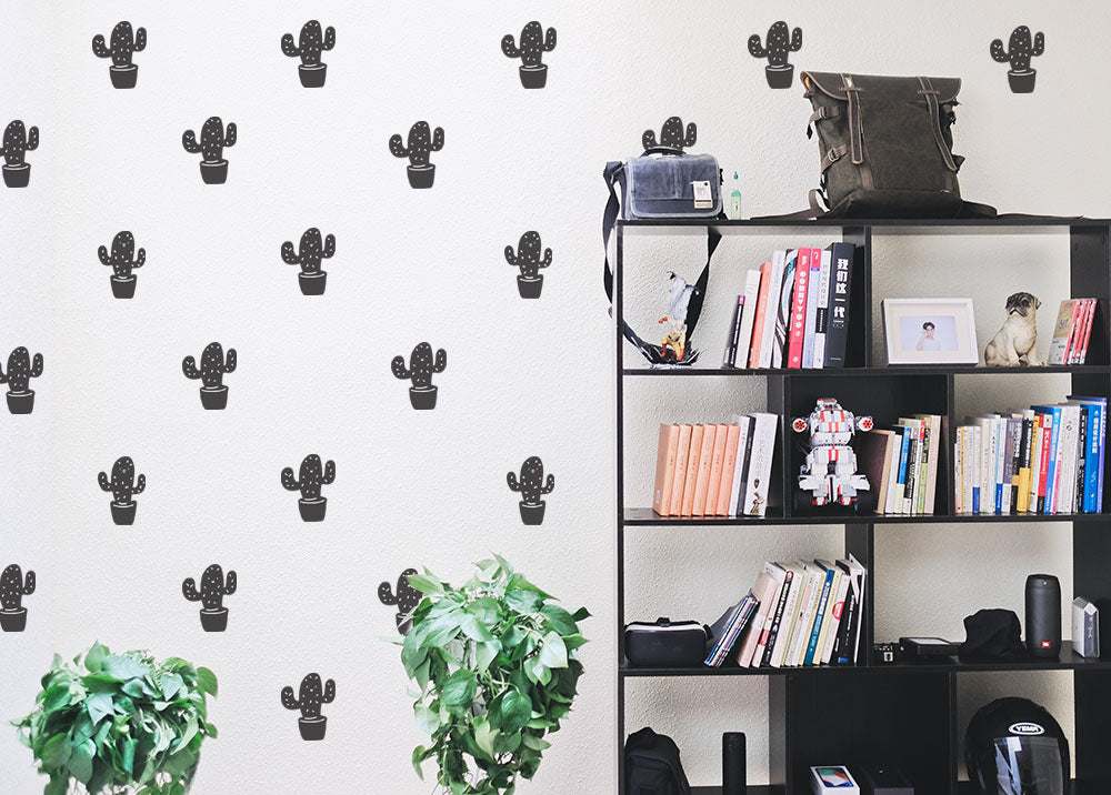 Burnt Cactus Wall Stickers