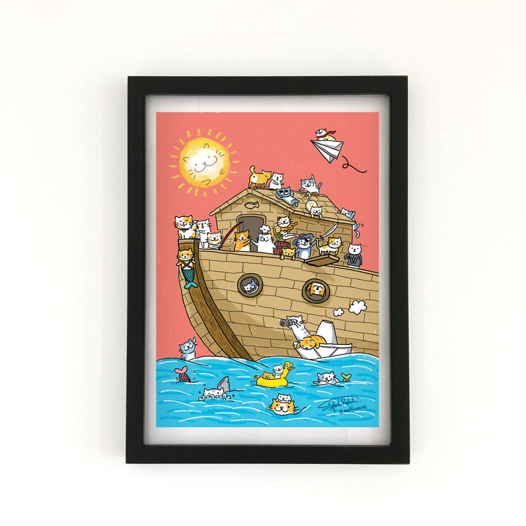 Cat Ark - Art Print