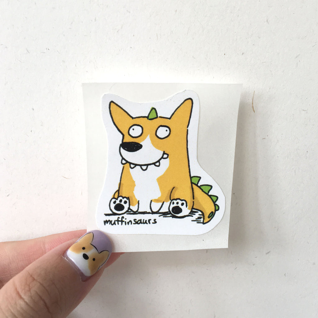 Corgisaurus Sticker
