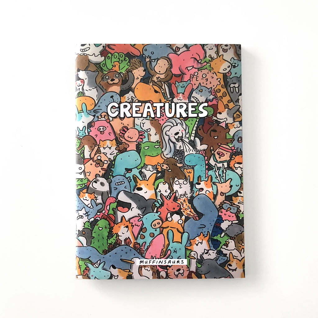 Creatures Colouring Book