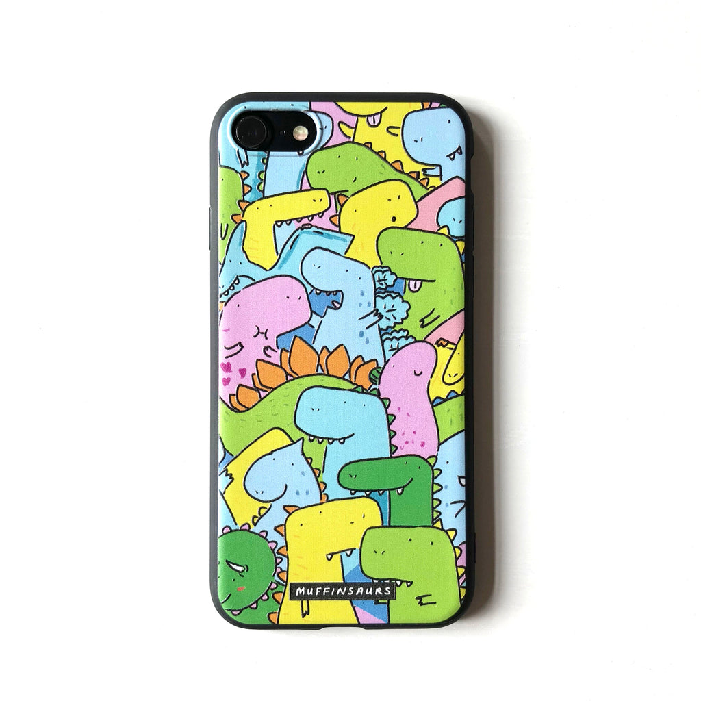 Dino Party Iphone 7/8/7+/8+ Case